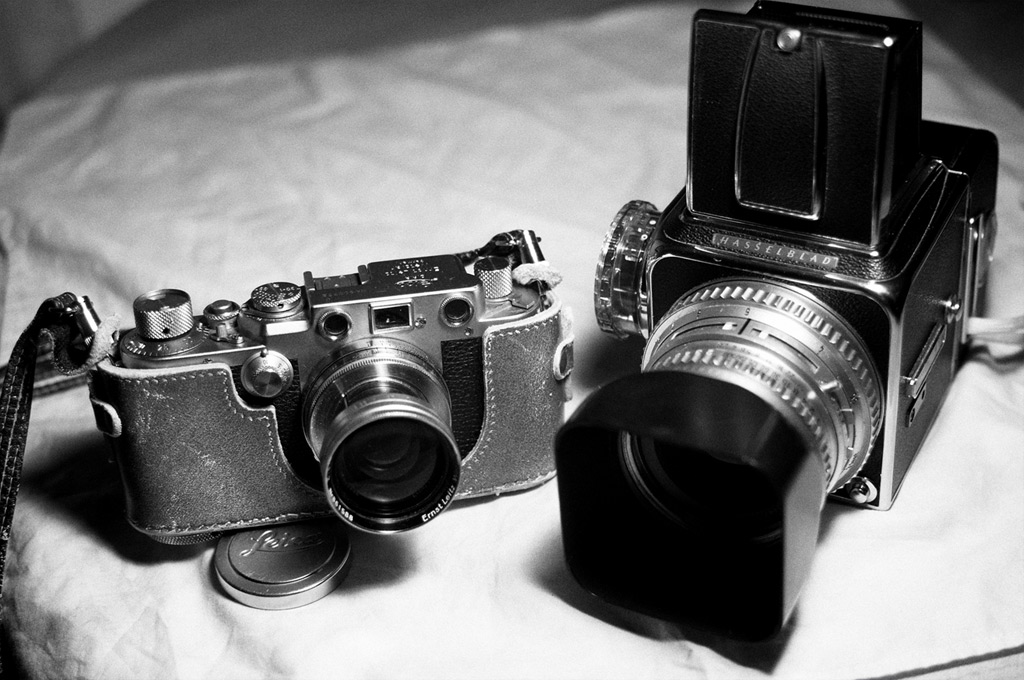 Leica IIIf and Hasselblad 500c, Andrew D. Barron©3/8/12