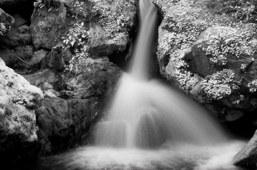 Small waterfall off of road 3313, Andrew D. Barron©3/10/12