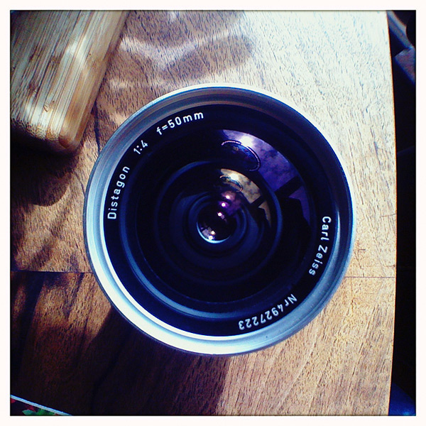 50mm lens for Hasselblad, Andrew D. Barron©3/31/12
