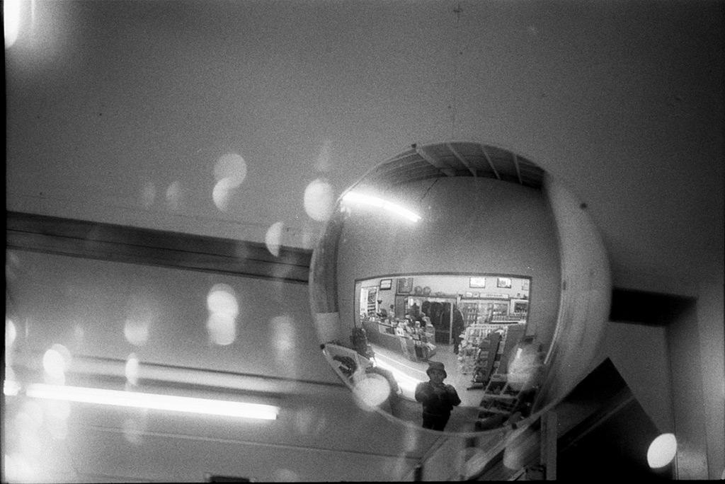 Nesika Market mirror, Andrew D. Barron©3/10/12