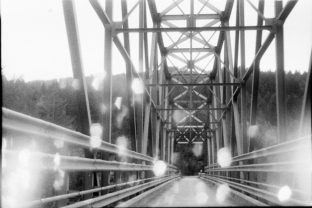 Lobster creek bridge over the Rogue river, Andrew D. Barron©3/10/12