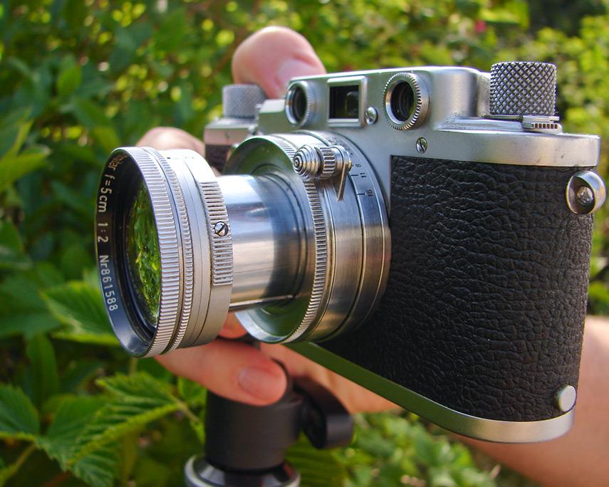 Leica IIIf, Andrew D. Barron©5/16/12