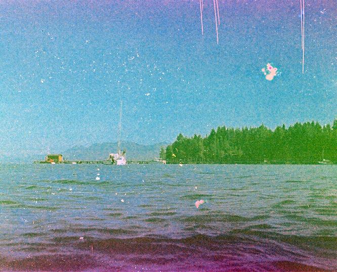 Lake Tahoe, CA, Andrew D. Barron©7/4/12 [found film; Kodak Ektra 2]