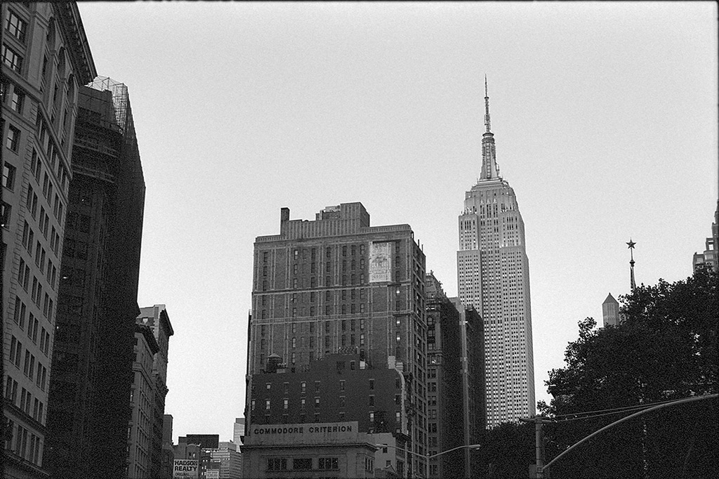 New York City buildings, Andrew D. Barron©10/11/2013 [Nikomat FT2; 50mm ƒ1.4, TriX]
