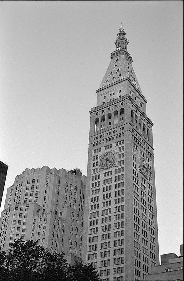 New York City buildings, Andrew D. Barron©10/11/2013 [Nikomat FT2; 50mm ƒ1.4, TriX]