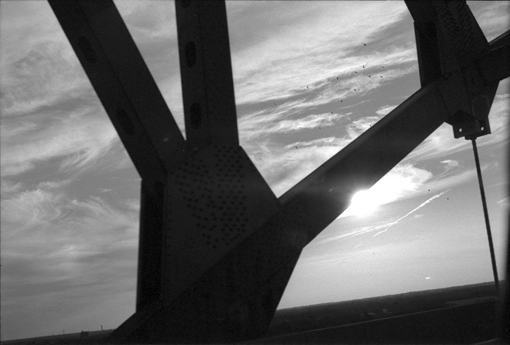 A bridge en route to NYC, Andrew D. Barron©10/15/2013 [Nikomat FT2; 50mm ƒ1.4, TriX]