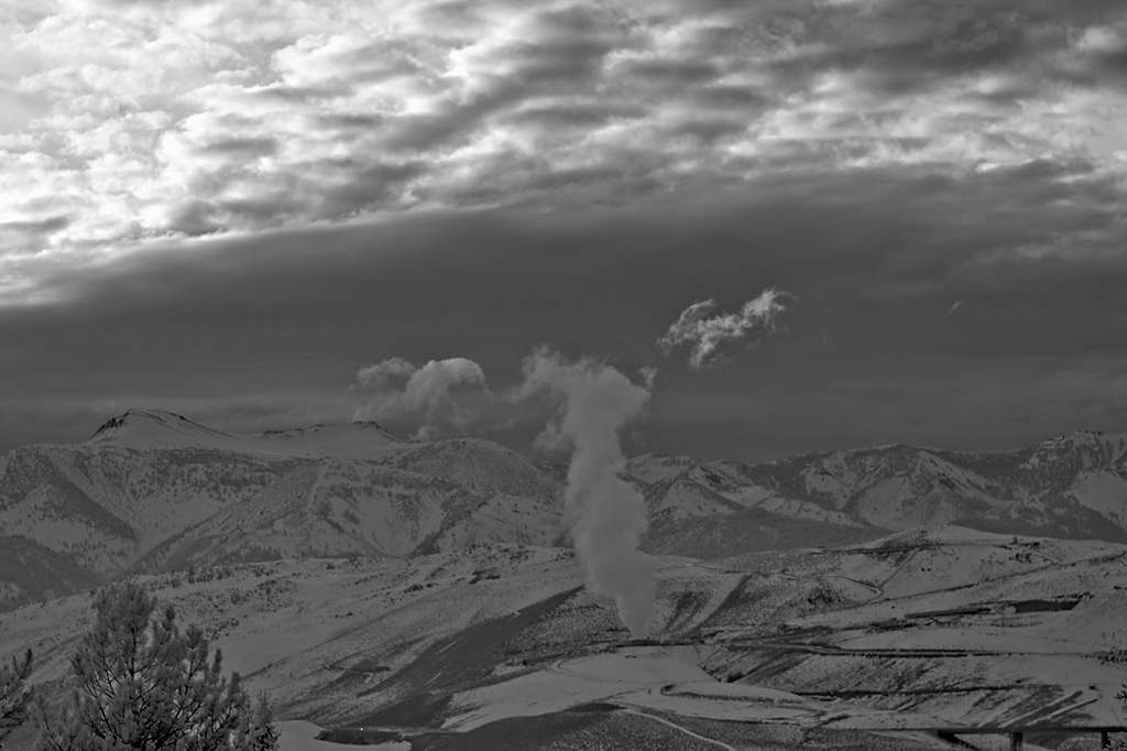 Geothermal, Andrew D. Barron©1/5/13 [Infrared converted D5000 w/Zeiss 80mm planar for Hasselblad]