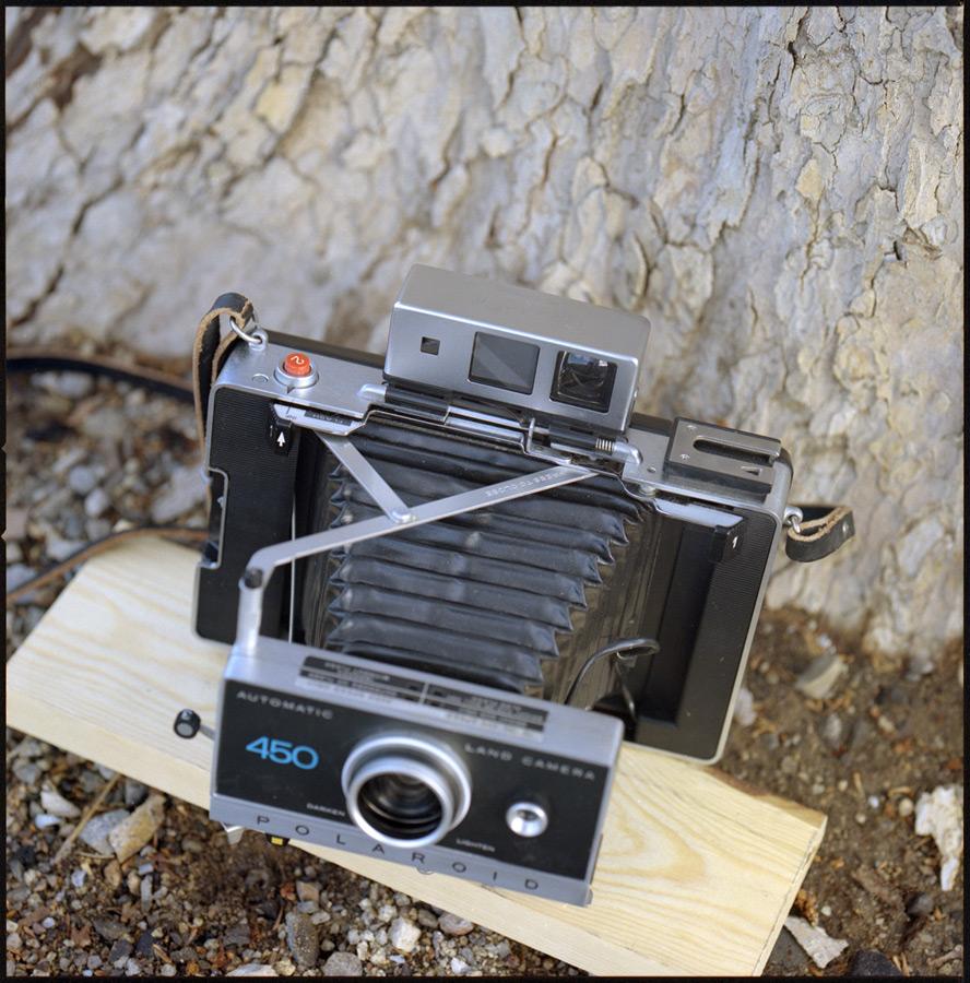 Polaroid Land Camera 450, Reno, NV, Andrew D. Barron©1/25/13 [Hasselblad 500c/m; Planar 250mm ƒ5.6, Kodak Portra frame 9]