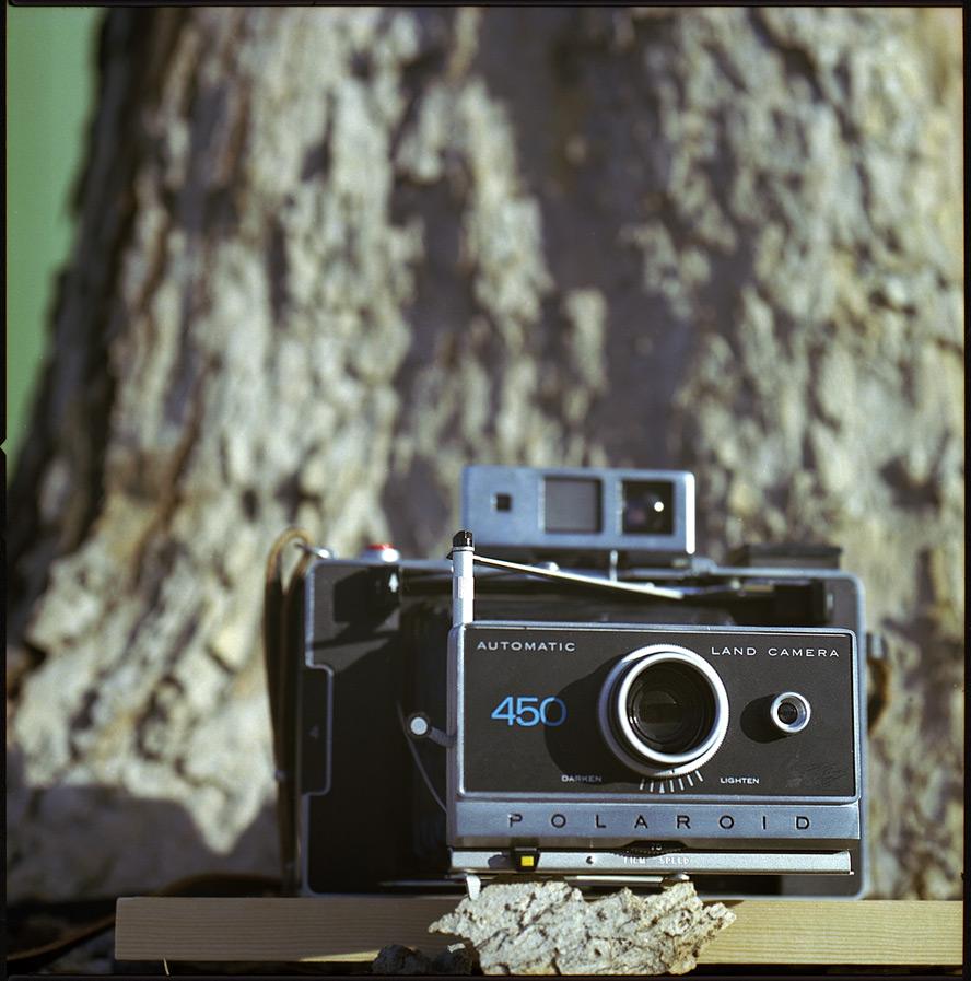 Polaroid Land Camera 450, Reno, NV, Andrew D. Barron©1/25/13 [Hasselblad 500c/m; Planar 250mm ƒ5.6, Fuji Reala 100 frame 9]