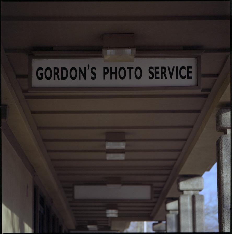 Gordon's Photo Service, Reno, NV, Andrew D. Barron©1/25/13 [Hasselblad 500c/m; Planar 250mm ƒ5.6, Fuji Reala 100 frame 4]