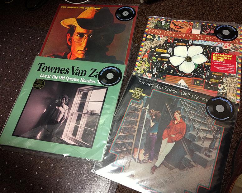 Townes Van Zandt reissue 180g vinyl, Andrew D. Barron©3/21/13 [645 Pro; iphone 4s]