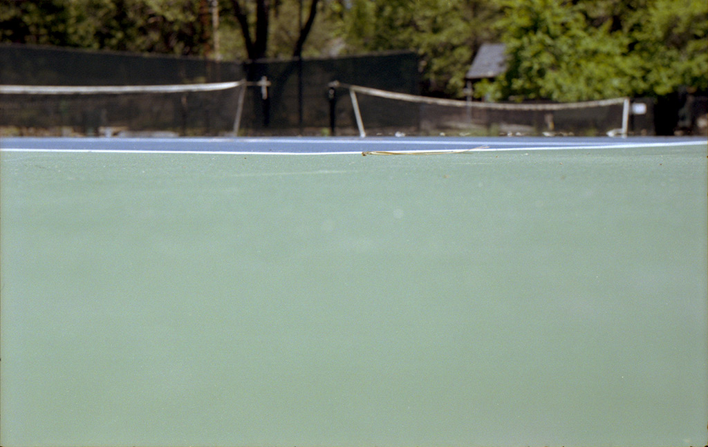 Tennis courts at Camp Mather, Andrew D. Barron©5/30/13 [Leica IIIf, Summitar ƒ2.0, Portra 400]