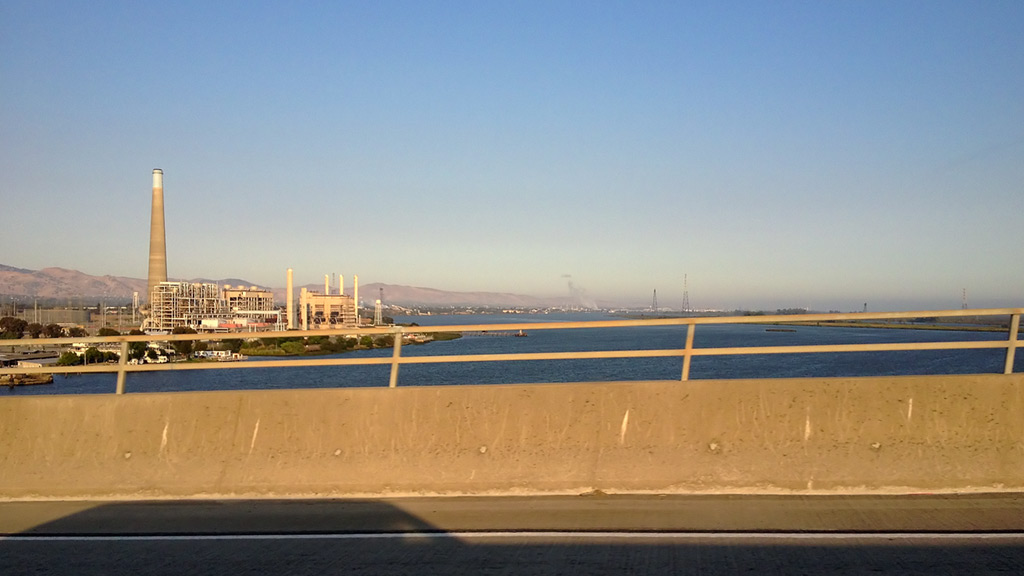 Up and over the Antioch bridge, Andrew D. Barron©7/20/13 [iPhone 4S:645 Pro]