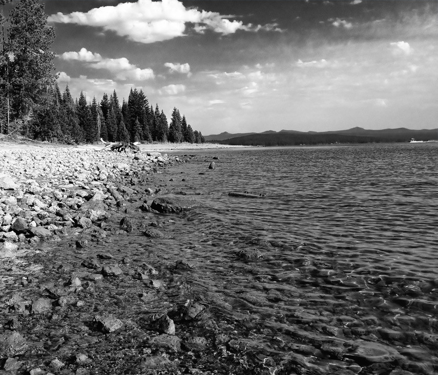 Rocky Point lake view, Almanor, Andrew D. Barron©7/26/13 [iPhone 4S:645 Pro]