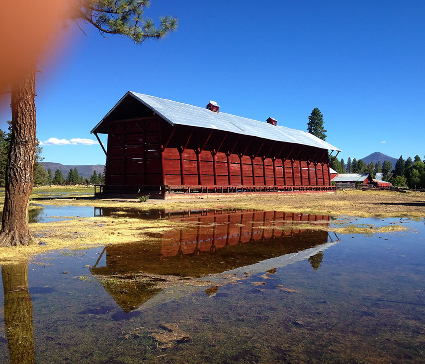 Barn en route to Hat Creek rim, Andrew D. Barron©8/1/13 [iPhone 4S:645 PRO]