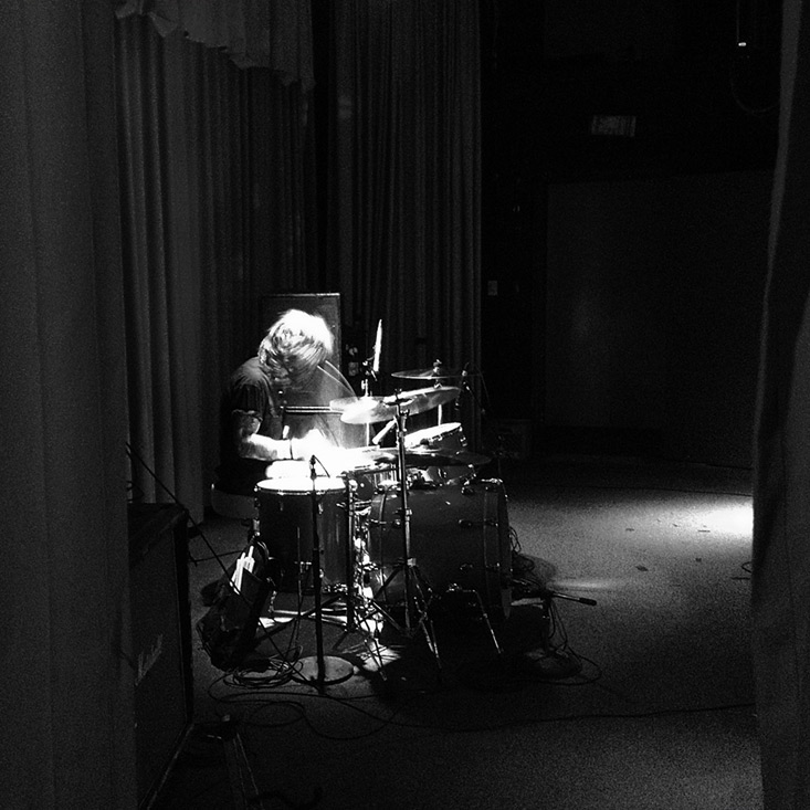 Chris Von Streicher of the Supersuckers at the Beachland Ballroom, Cleveland OH, Andrew D. Barron©9/14/13 [iPhone 4s;645 PRO]