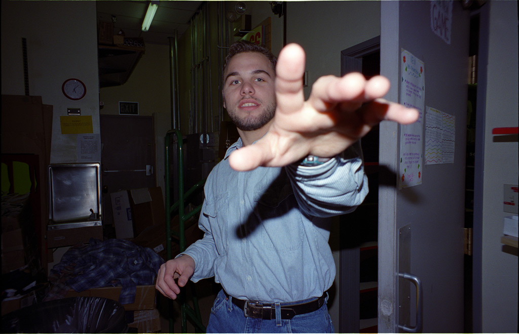 Gimme that! Miller's Outpost, Chico Mall, Andrew D. Barron©12/27/94